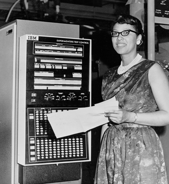 "Melba Roy, Lead Mathematician / ""Computer"" for NASA, 1964"